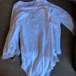 Carters 18 month long sleeve onesies